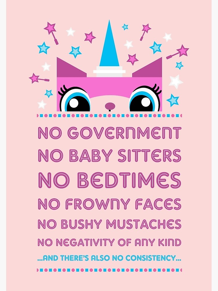Rules By Princess Unikitty (USA Version) by Pixel-Born