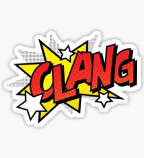 Clang Sticker