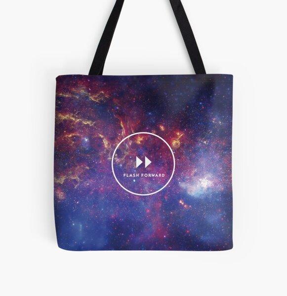 Flash Forward Logo All Over Print Tote Bag
