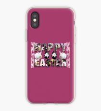 .◕‿◕. Happy Oster Hop Hop. iPhone-Hülle & Cover