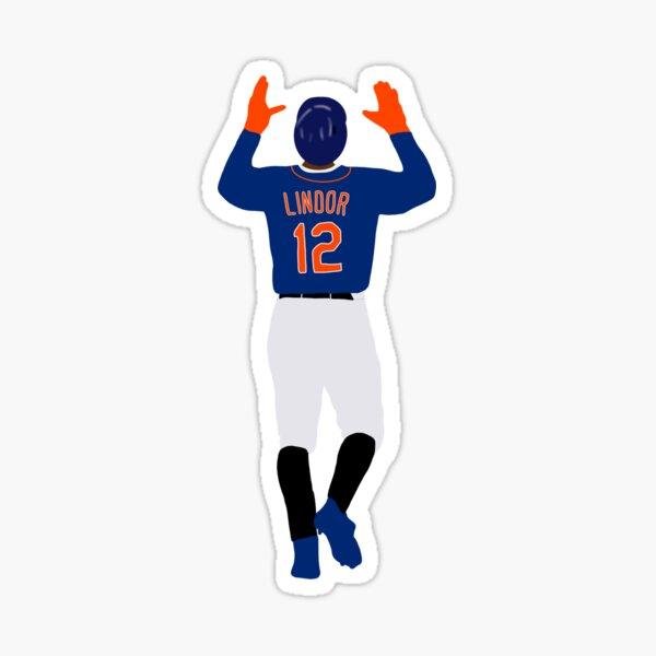 Lindor Mets shortstop Sticker