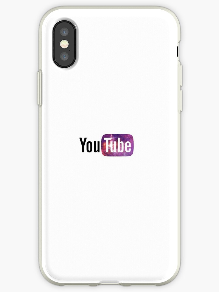 Youtube Logo Iphone Cases Covers By Elizzyfizzy Redbubble