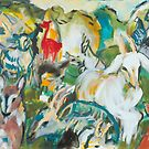 Goats and Guineas by SHANNON BUEKER