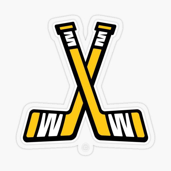 Pittsburgh Hockey Sticks Transparent Sticker