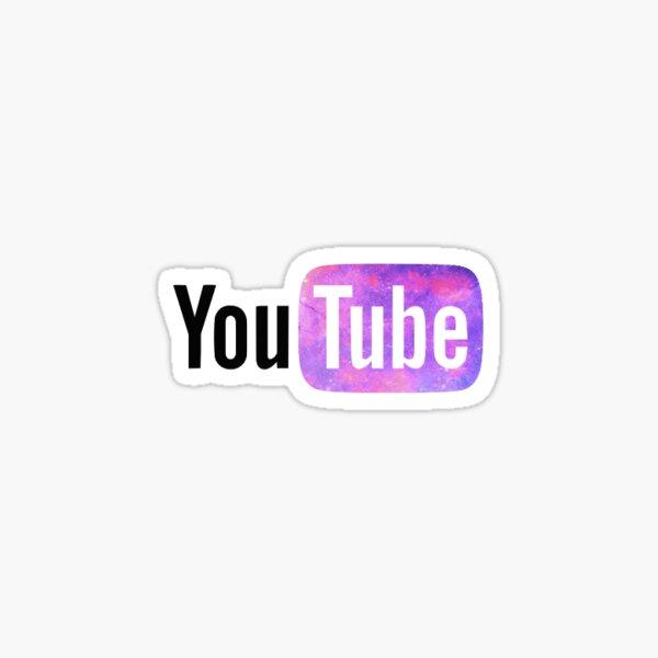 Logotipo de YouTube Pegatina