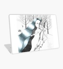 The Fairy with Turquoise Hair Laptop Skin