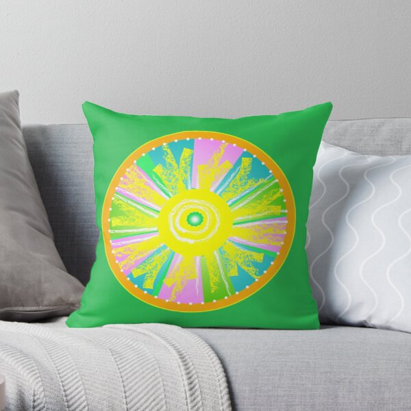 Let There Be Light - Square Throw Pillow