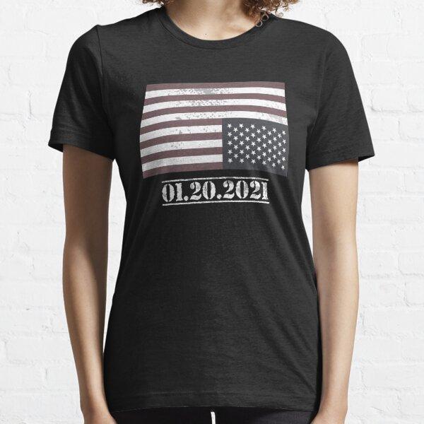 Anti Biden Inauguration Day 01.20.2021 Essential T-Shirt