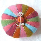 Pin cushion by Susan Littlefield