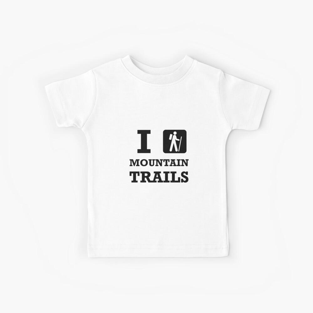 Wanderung Bergwege Kinder T-Shirt