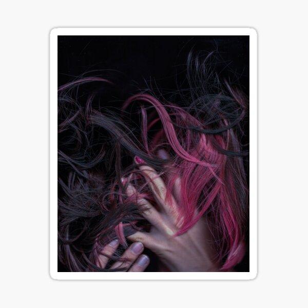 body piece. hair landscape, part IX.  Sticker