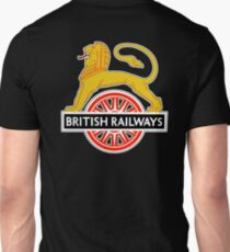 BRITISH RAILWAYS, BR, SIGN, First logo, British Railways, 'Cycling Lion' T-Shirt