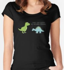 Your Sudden, But Cute, Betrayal Women's Fitted Scoop T-Shirt