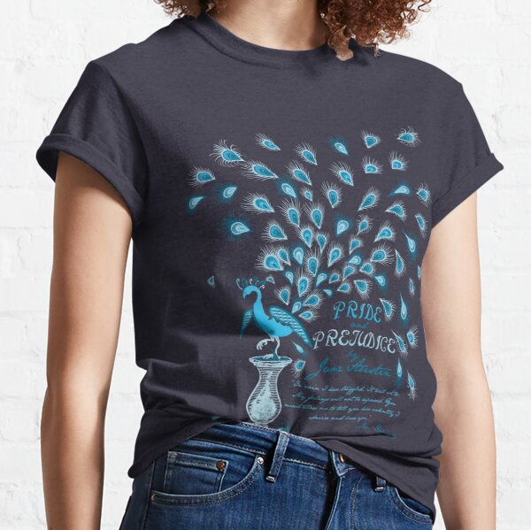 Paisley Peacock Pride and Prejudice: Classic Classic T-Shirt