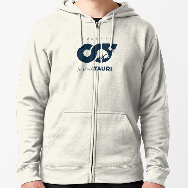 Scuderia AlphaTauri team logo Zipped Hoodie