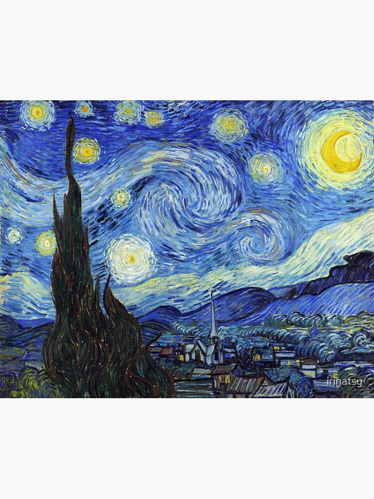 Vincent van Gogh - Sternennacht von irinatsy