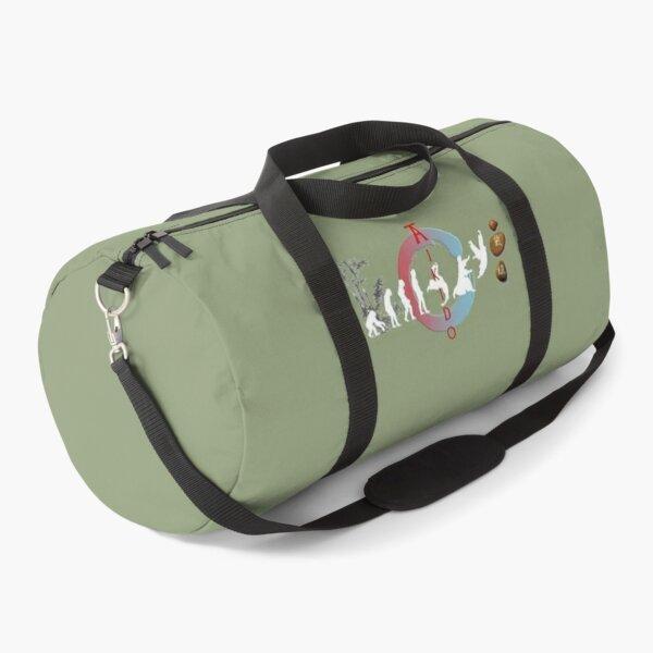 Aikido Evolution - Martial Arts Design Duffle Bag