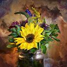 A Jar Of Wildflowers by Lois  Bryan