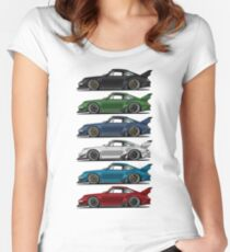 911 s Women's Fitted Scoop T-Shirt
