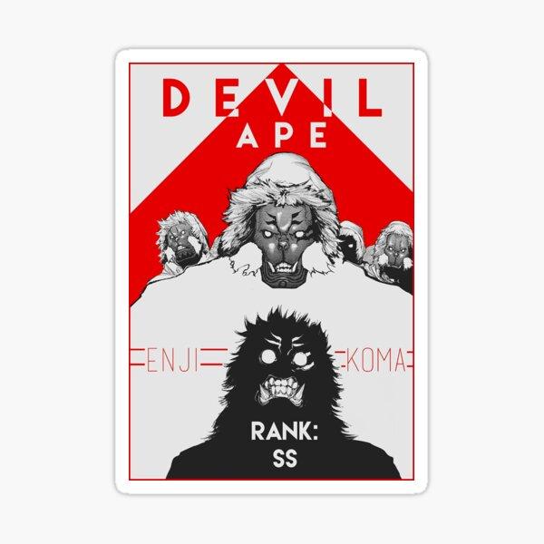 Tokyo Ghoul - Enji Koma, Teufelsaffe Sticker