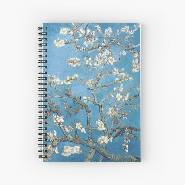Vincent van Gogh - Branches with Almond Blossom Spiral Notebook