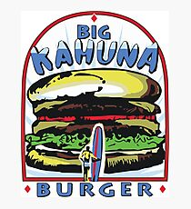 Big Kahuna Burger t-shirt (Pulp Fiction, Tarantino, Bad Motherf**ker) Photographic Print