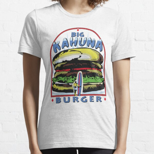 Camiseta Big Kahuna Burger (Pulp Fiction, Tarantino, Bad Motherf ** ker) Camiseta esencial