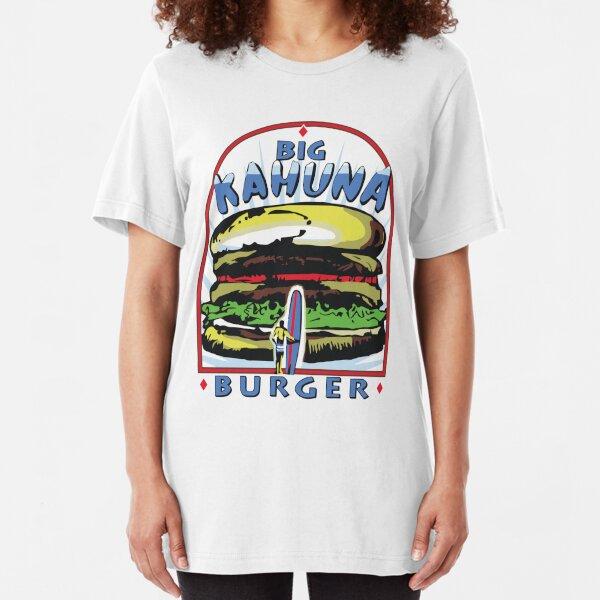 Big Kahuna Burger t-shirt (Pulp Fiction, Tarantino, Bad Motherf**ker) Slim Fit T-Shirt