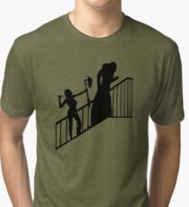 Buffy VS Count Orlok! Tri-blend T-Shirt
