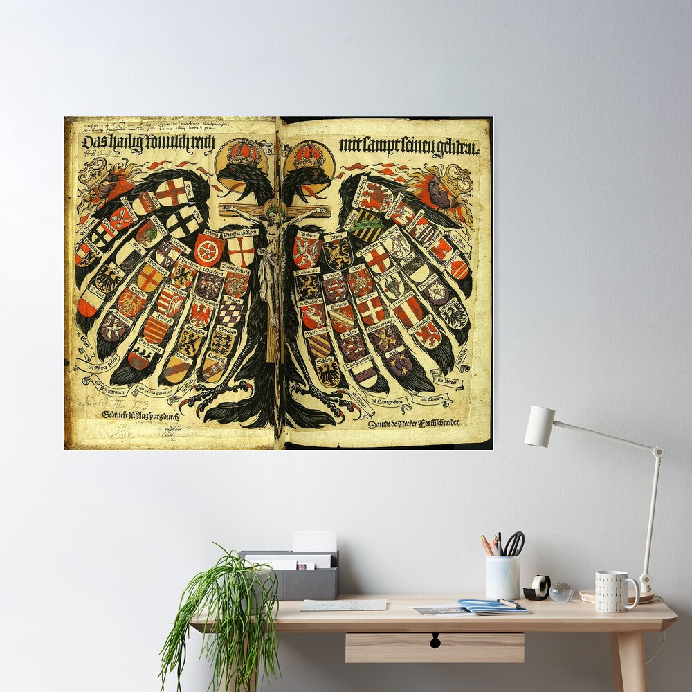 Double Headed German Eagle, 1510 Poster