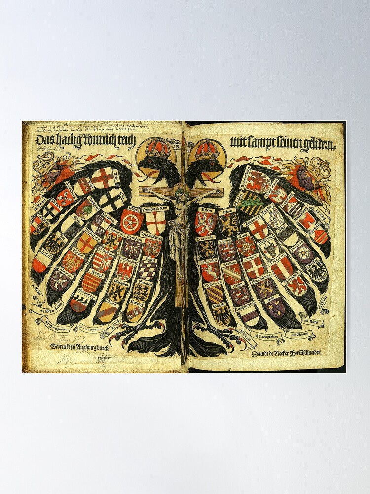 Alternate view of Double Headed German Eagle, 1510 Poster