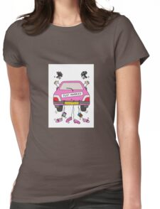 Just married lesbian wedding. Womens Fitted T-Shirt