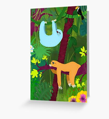 The nap time 2 Greeting Card