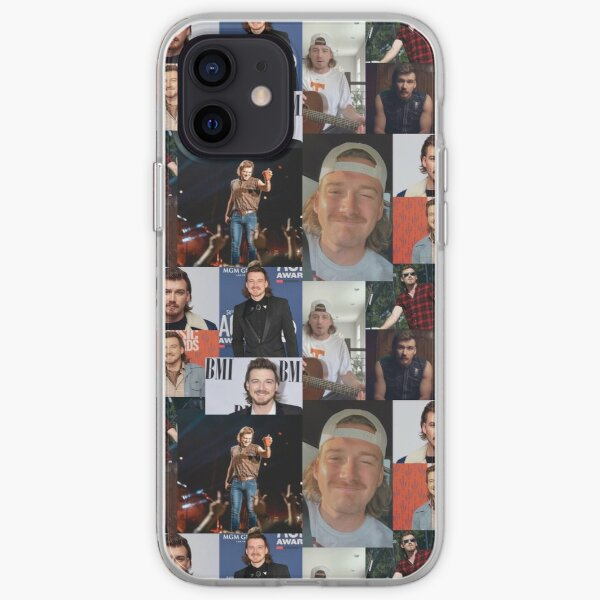 morgan collage iPhone Soft Case