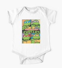 Teenage Mutant Ninja Turtles All  One Piece - Short Sleeve