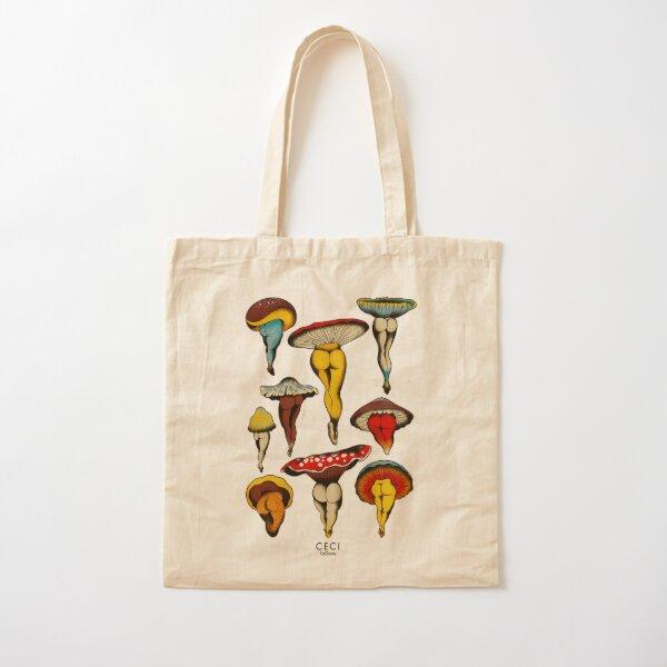 Flash de tatouage de champignons sexy Tote bag classique