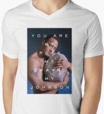 You Are My Rock Men's V-Neck T-Shirt