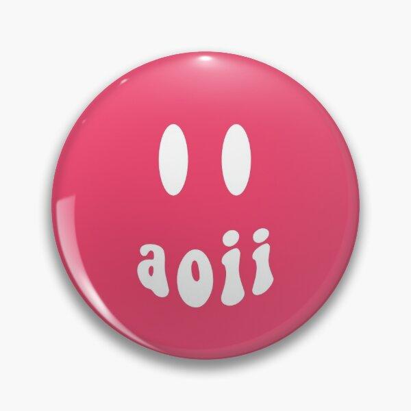 AOII Smiley Face Pin