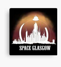Space Glasgow Canvas Print