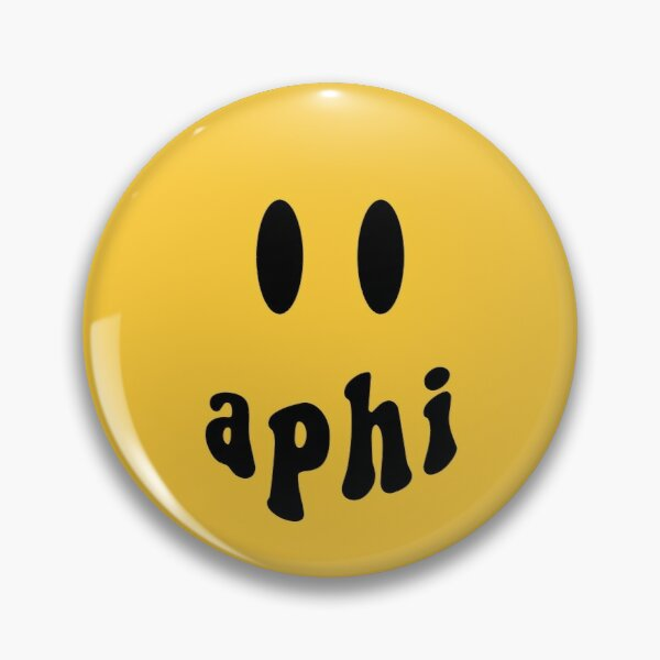 APhi Smiley Face Pin