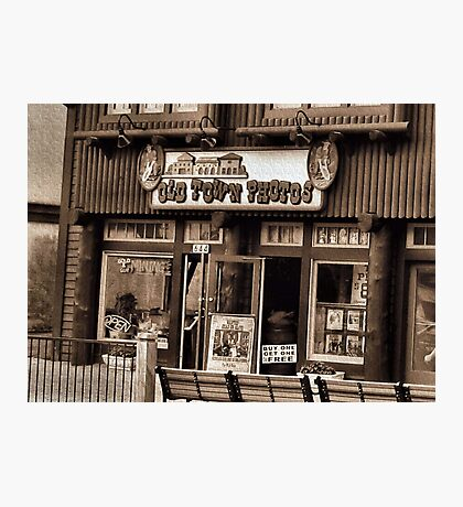 """""""Gatlinburg, Tennessee Series, #5... 'The Old Timey Photo Shop, 3rd Picture'""""... prints and products   Photographic Print"""