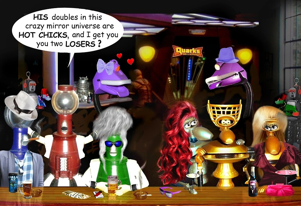 Bad Luck at the Quantum Madness Bar & Grill by Nadya Johnson