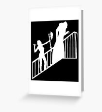 Buffy VS Orlok II! Greeting Card