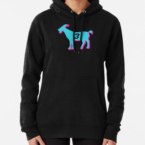 Miami GOAT - 3 - Vice black Pullover Hoodie