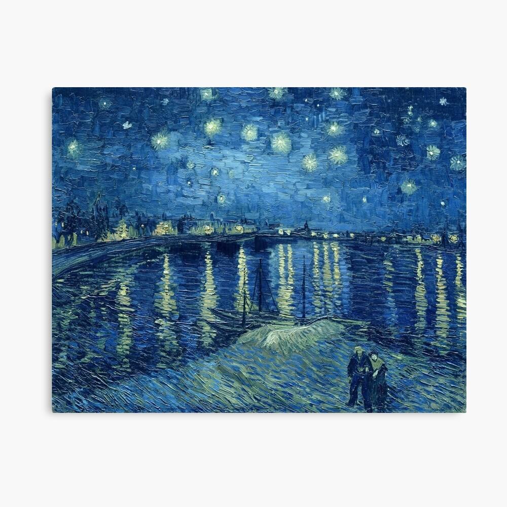 Vincent van Gogh - Sternennacht über der Rhône Leinwanddruck