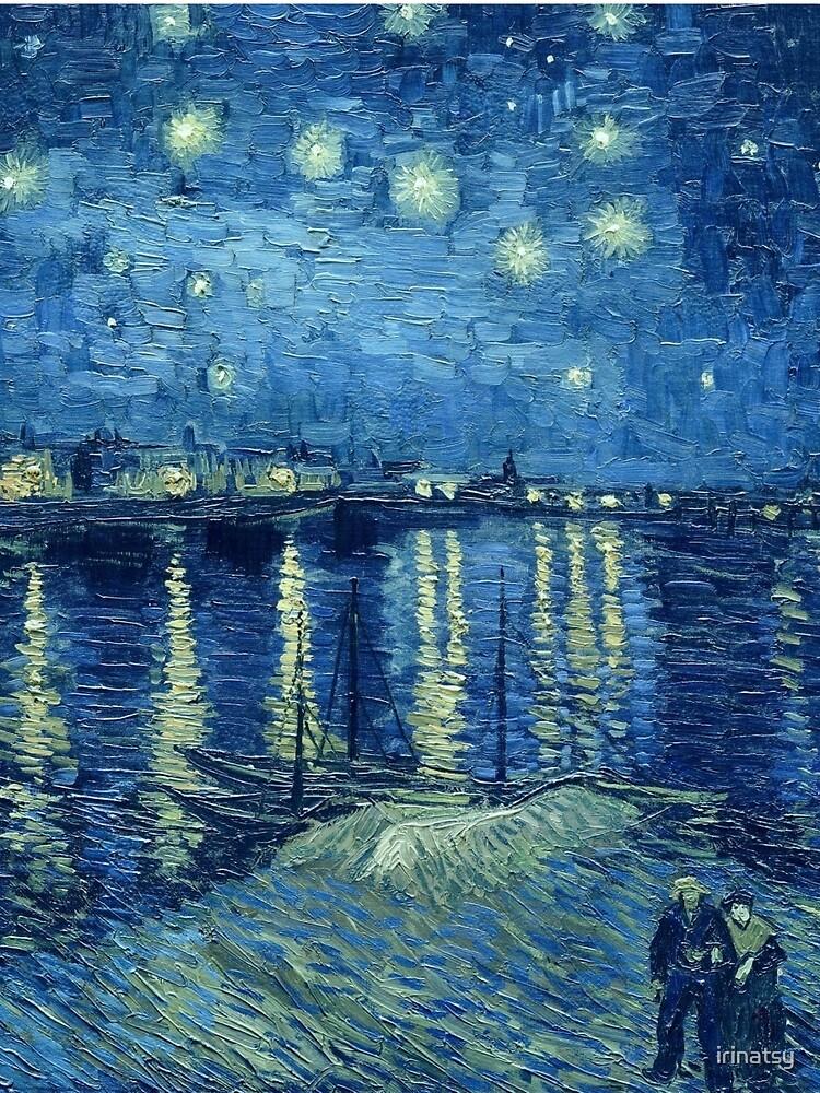 Vincent van Gogh - Sternennacht über der Rhône von irinatsy