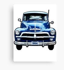 Chevrolet Truck Canvas Print