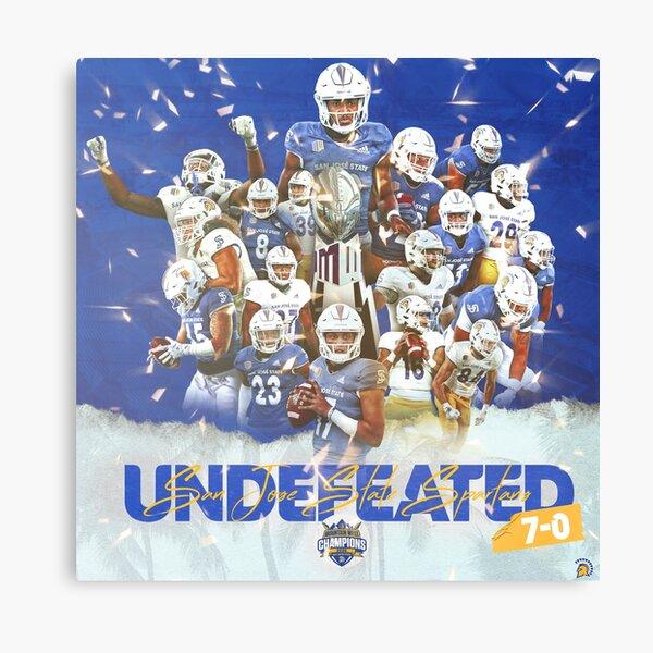San Jose State Football Mountain West Champions Canvas Print
