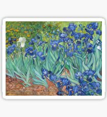 Vincent van Gogh - Schwertlilien Sticker