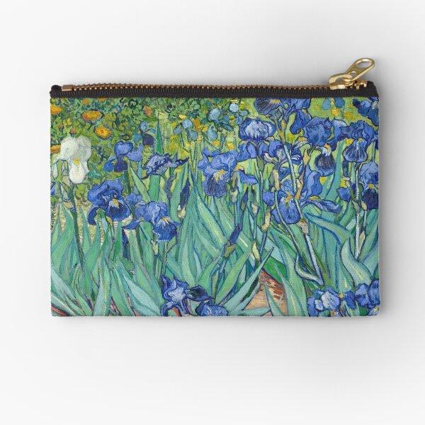 Vincent van Gogh - Irises Zipper Pouch